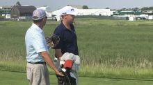 Davis Love IV plays first U.S. Open with father Davis Love III as his caddy
