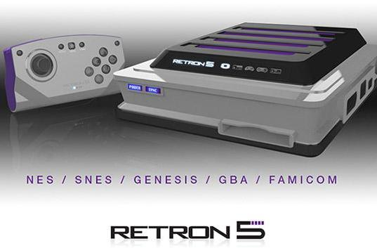 Faulty connectors push Retron 5 game console into early 2014 launch