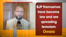 BJP themselves have become law and are spreading terrorism: Owaisi