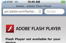 Adobe points finger at Apple over Flash for iPhone