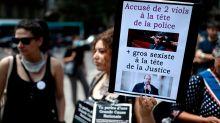 Feministas protestam contra ministros de Macron acusados de estupro e machismo