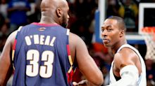 Shaquille O'Neal takes shot at Dwight Howard for speech after Lakers win: 'Sit your ass down'