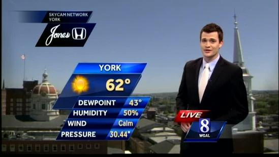 Will mild conditions last through weekend?