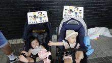 Warga Hong Kong tuntut pembebasan wanita yang ditahan