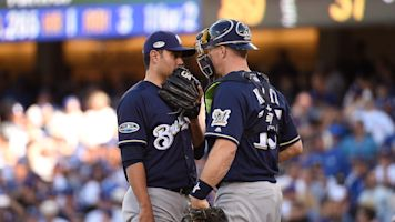 Are Dodgers stealing the Brewers' signs?