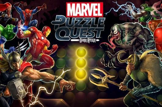 Marvel Puzzle Quest assembles on iOS, Android tomorrow