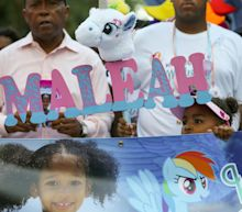 Dad of Maleah Davis, slain 4-year-old, shares photos of her 'My Little Pony'-themed casket