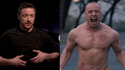 How McAvoy got ripped for 'Glass'