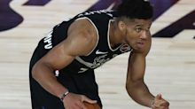 Giannis Antetokounmpo officially questionable for Game 4 vs. Heat