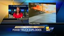 Massive food truck explosion injures 12