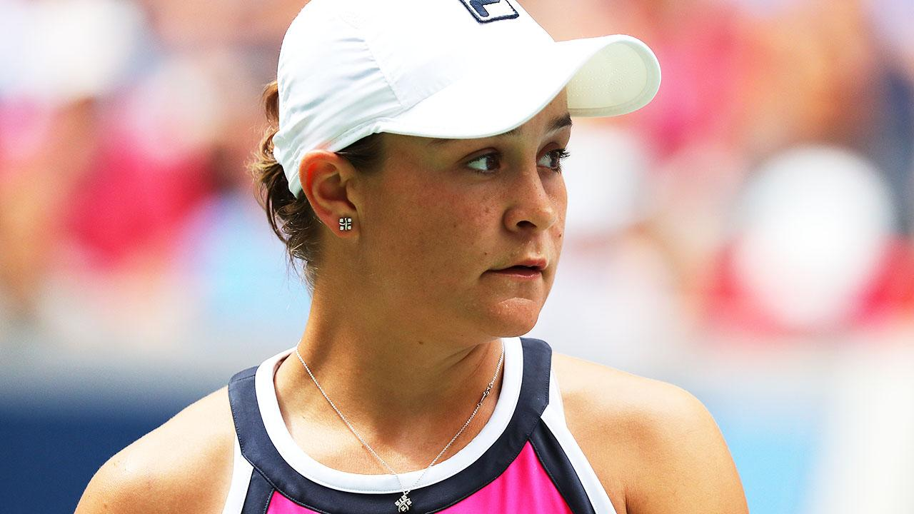 'What the hell': Ash Barty under fire after shock loss at US Open