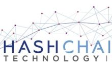 HashChain Technology Provides Update on Cryptocurrency Mining Operations; Mines Nearly 5 Bitcoin and 4 Dash a Week
