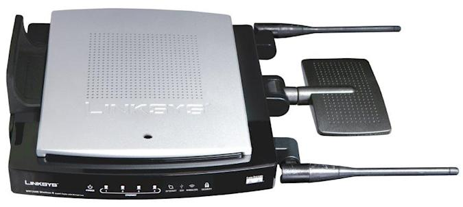 Linksys WRT350N Wireless-N Gigabit Router with Storage Link