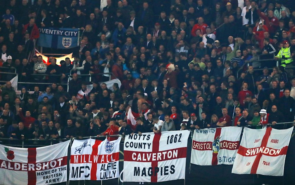 Much of the chanting stems from provincial England, from the smaller towns and outposts of the game - Rex Features