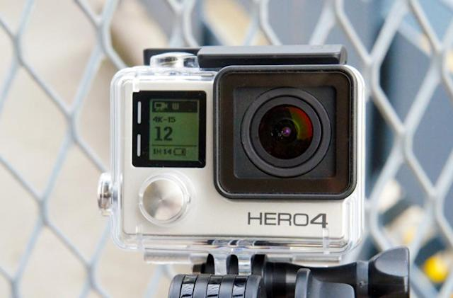 GoPro's Hero4 cameras offer 30 fps 4K shooting or touchscreen controls