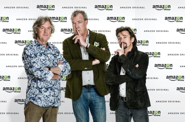Amazon snaps up former 'Top Gear' trio for new motoring show