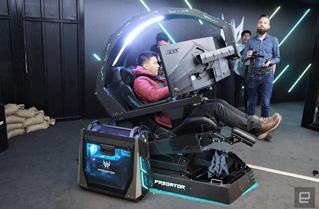 Acer's Predator Thronos is a cockpit masquerading as gaming chair
