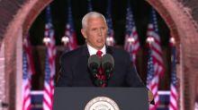 Vice-presidente americano discursa na Convenção Nacional Republicana