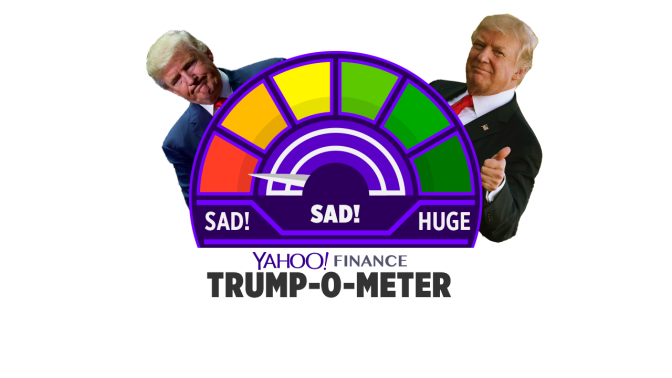 Trump-o-nomics meter: More tax cuts? Srsly?