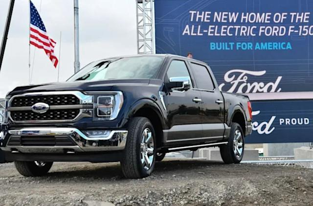 Ford will reveal the F-150 Lightning EV on May 19th