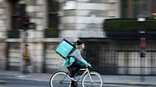 Amazon's Deliveroo Deal Probed as U.K. Targets Tech Giants