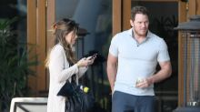 Chris Pratt Enjoys Breakfast with Girlfriend Katherine Schwarzenegger's Dad, Arnold!