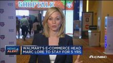 Walmart's e-commerce head: Looking for right M&A opportun...