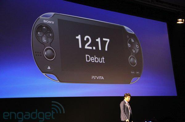 Sony PlayStation Vita debuts in Japan on December 17th, partnering with NTT DoCoMo for 3G (updated)