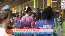 Meghan visiting Suva markets solo