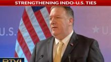 Mike Pompeo hails US-India Cooperation, calls for efforts to thwart terrorism to continue