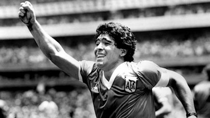 Diego Maradona, a soccer legend, dies at 60