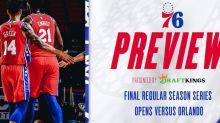 Final Regular Season Series Opens Versus Orlando