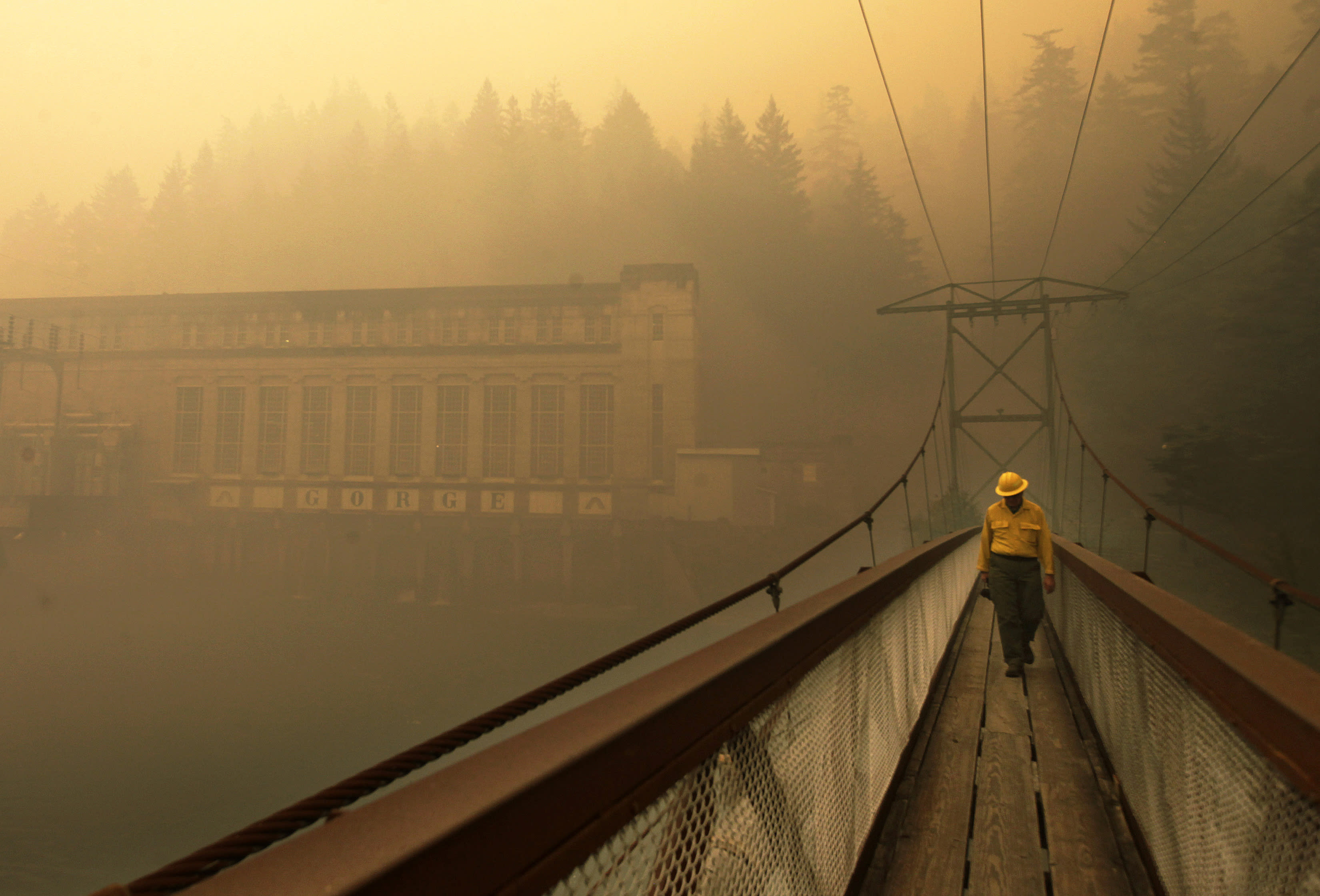 Fire risks rise in previously too-wet-to-burn US Northwest