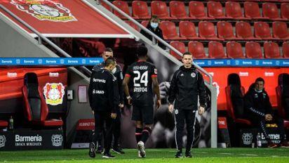 Contratado pelo Leverkusen em janeiro, Fosu-Mensah está fora do restante da temporada