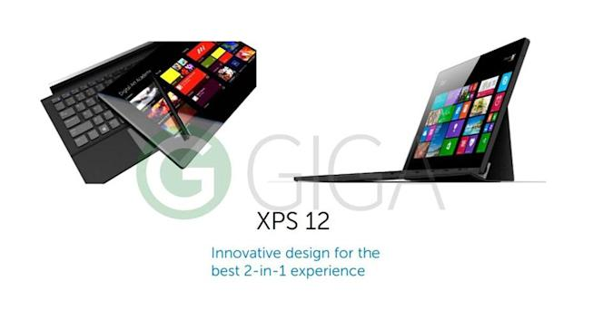 Dell's next XPS 12 looks like a Microsoft Surface rival