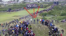 Jordan Spieth won The Open after his caddie saved his butt on the wild 13th hole