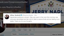 Rep. Jerrold Nadler appears to faint in NYC