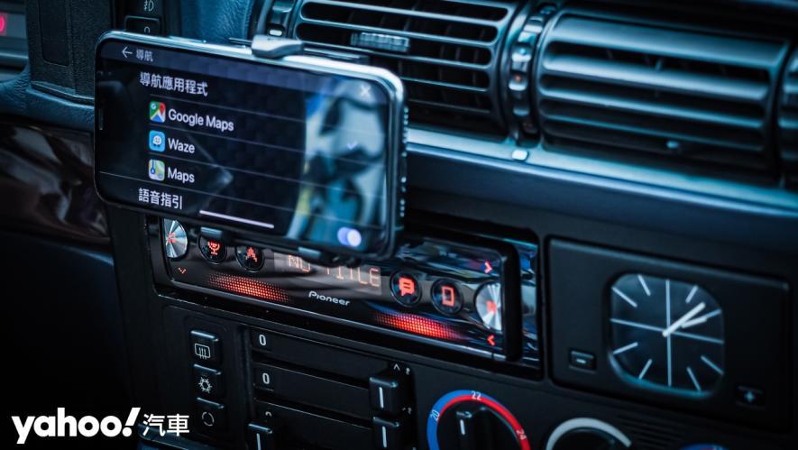 25載老車要如何蝦趴?開箱Pioneer SPH-10BT與Baseus無線充電的數位轉生術! - 13