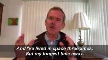 Coronavirus: astronaut Chris Hadfield shares self-isolation tips