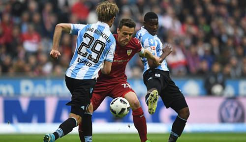 2. Liga: Löwen verschenken Sieg gegen Stuttgart