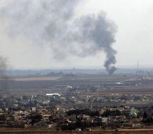 The Latest: Turkey says monitoring Syrian Kurdish pullout