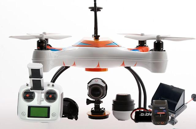 How about a drone to help you catch fish?
