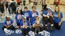 Special education teachers form student cheer squad, take home gold at first competition