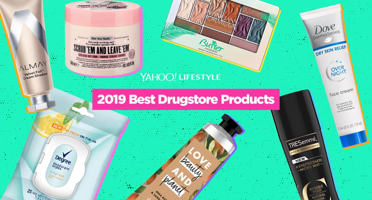 The Best Drugstore Beauty Products Of 2019 Hair Skin Makeup Bath And Body