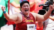Gong seals shot put dominance with gold