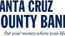 /C O R R E C T I O N -- Santa Cruz County Bank/