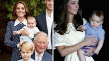 Prince Louis looks just like his big brother George in new royal family photos