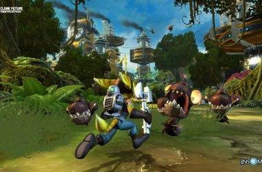 Beautiful, high-res, direct-feed screens of Ratchet & Clank