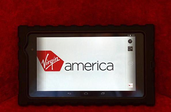 Virgin America passes out Nexus 7s to crew members