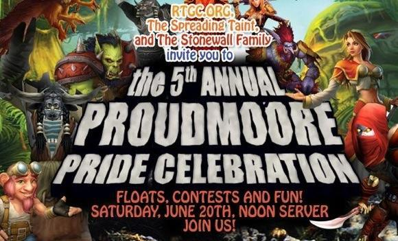 The Spreading Taint plans pride parade on Proudmoore